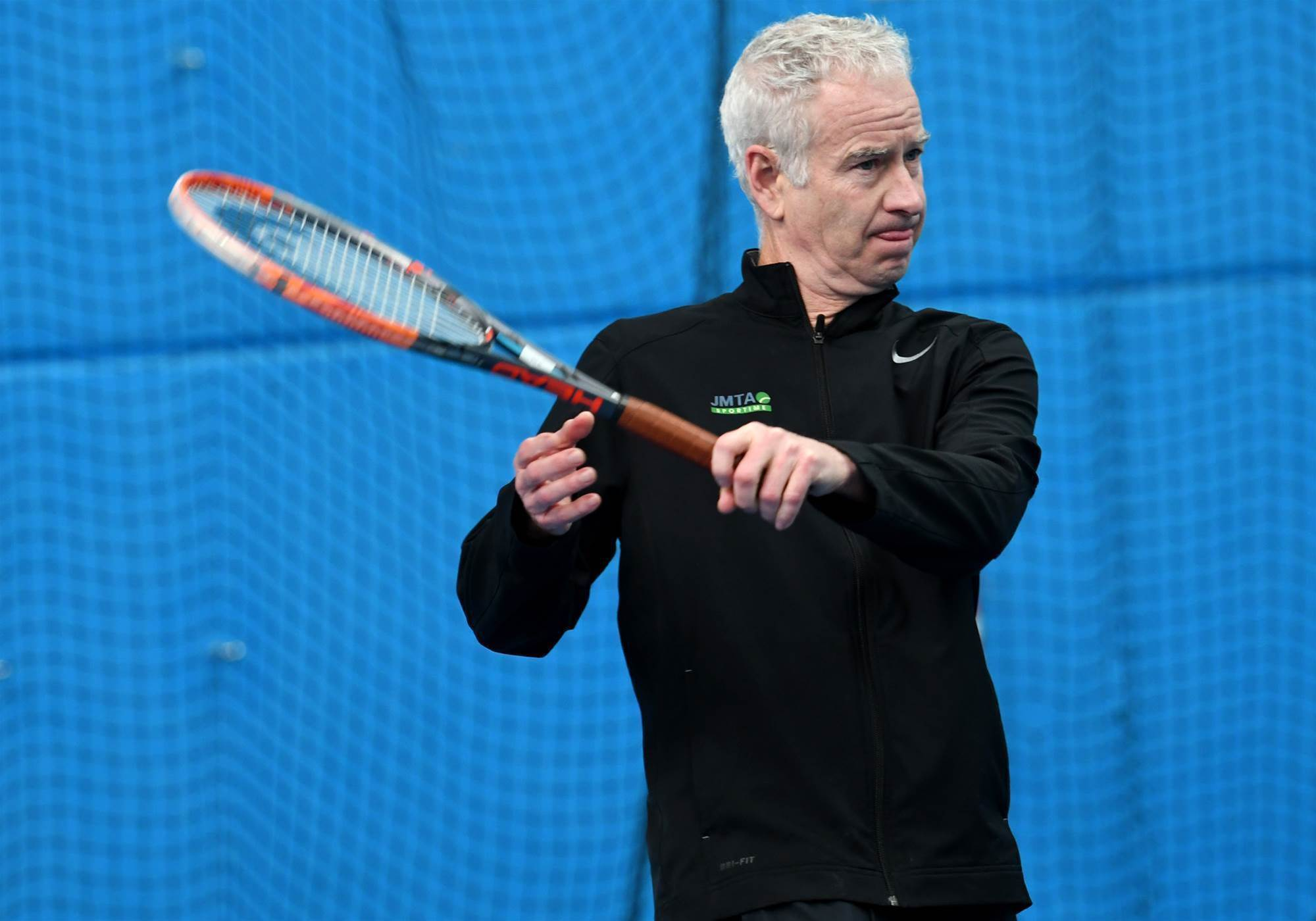 "McEnroe: I'd love to coach ""wacky"" Kyrgios"
