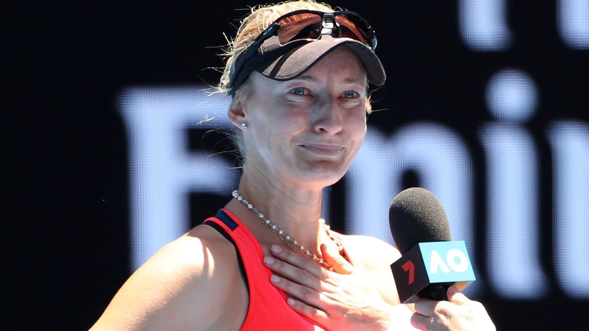 Former star through to first slam semi since 1999