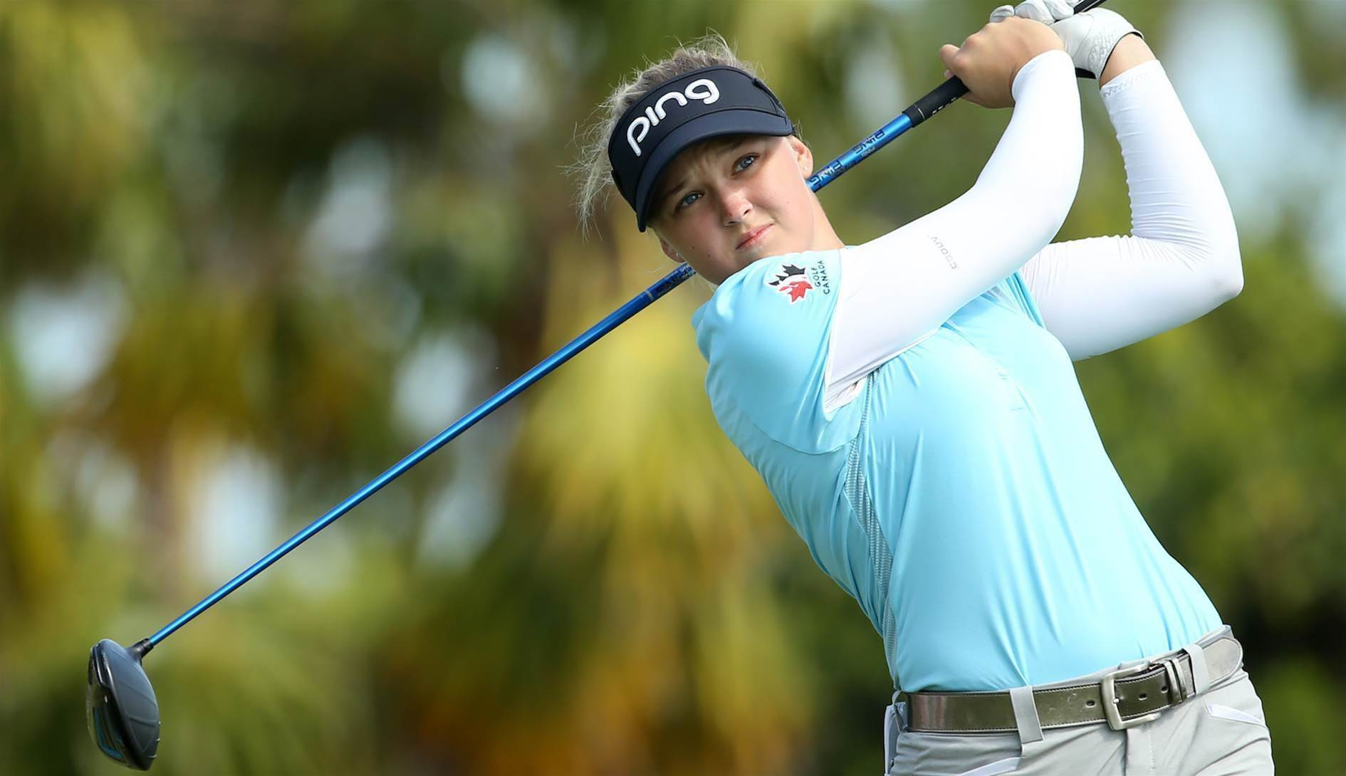 WOMEN'S OPEN: Henderson has great expectations