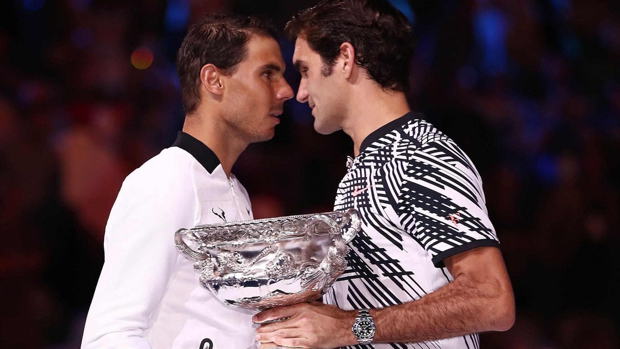 Federer and Nadal form doubles super team