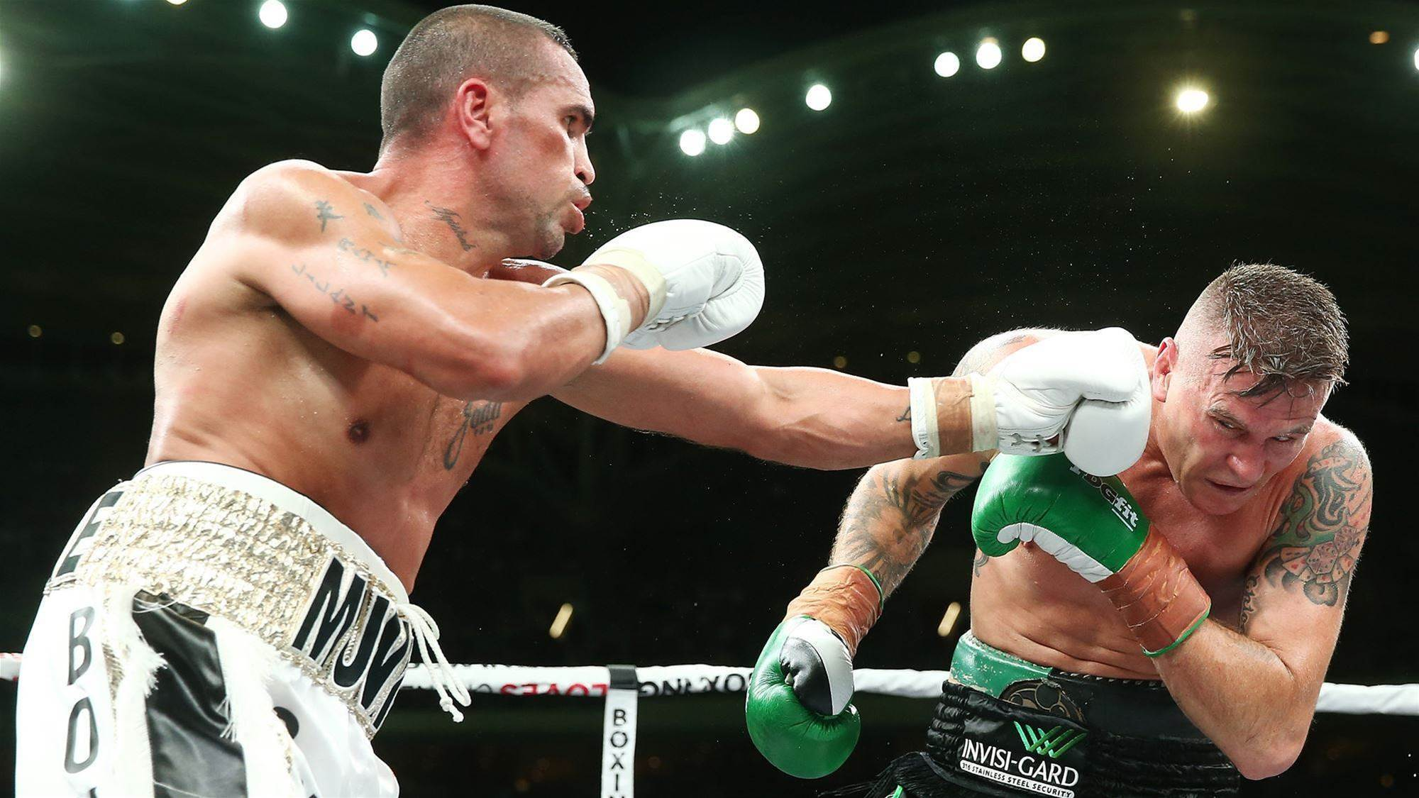 """Mundine demands rematch """"I want to whip his arse"""""""