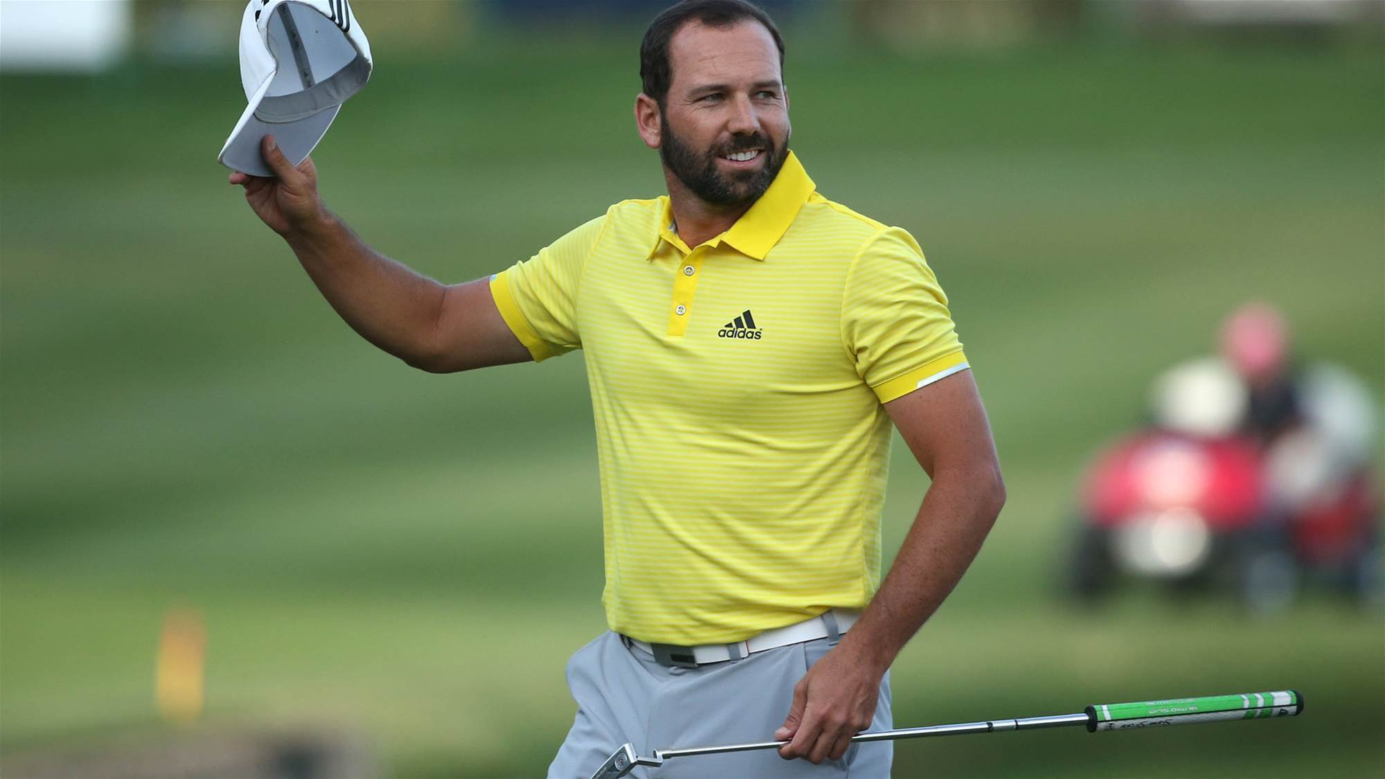 EURO TOUR: Victorious Sergio in love and thinking majors