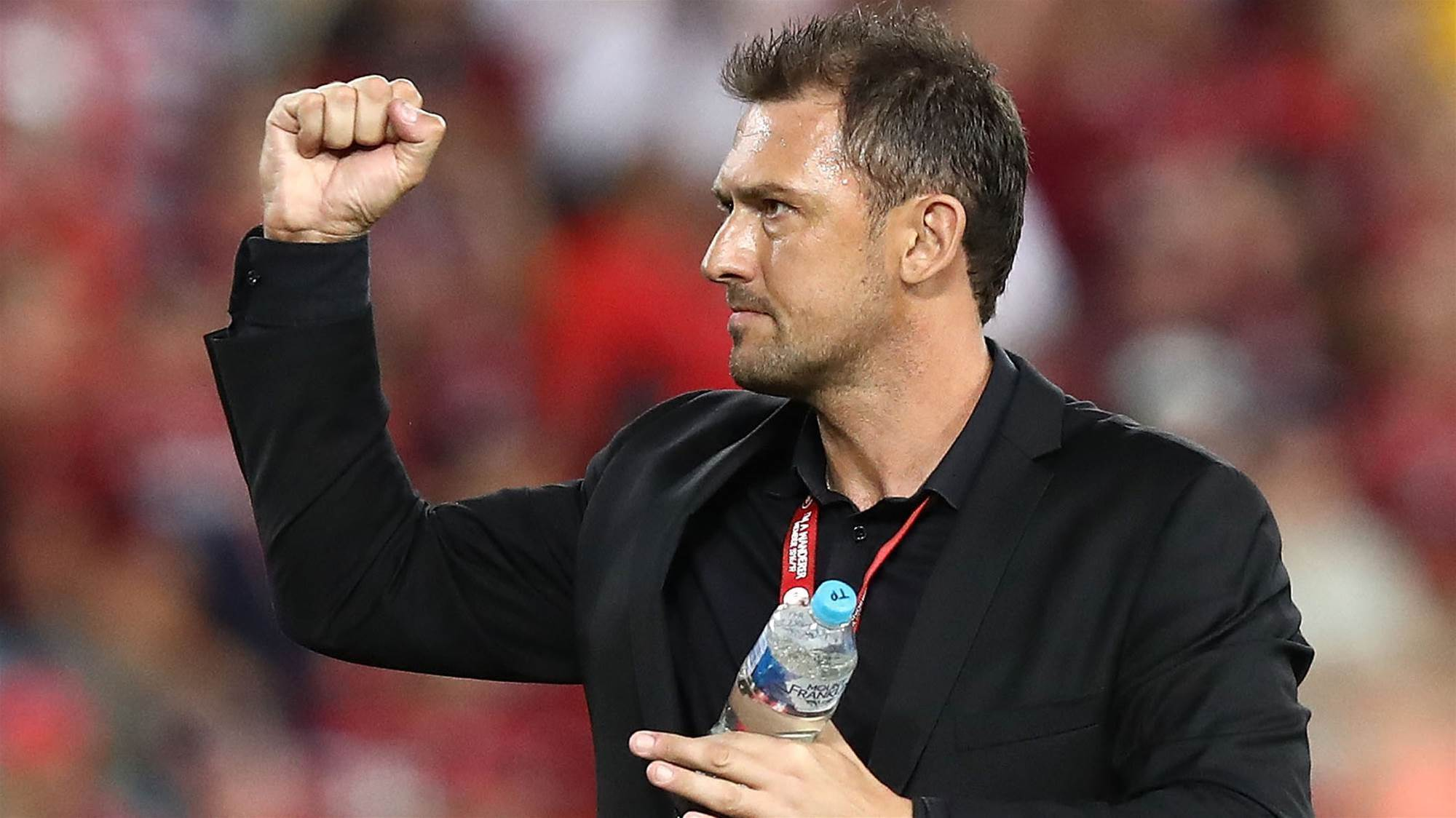 Popovic: Wanderers are A-League ready