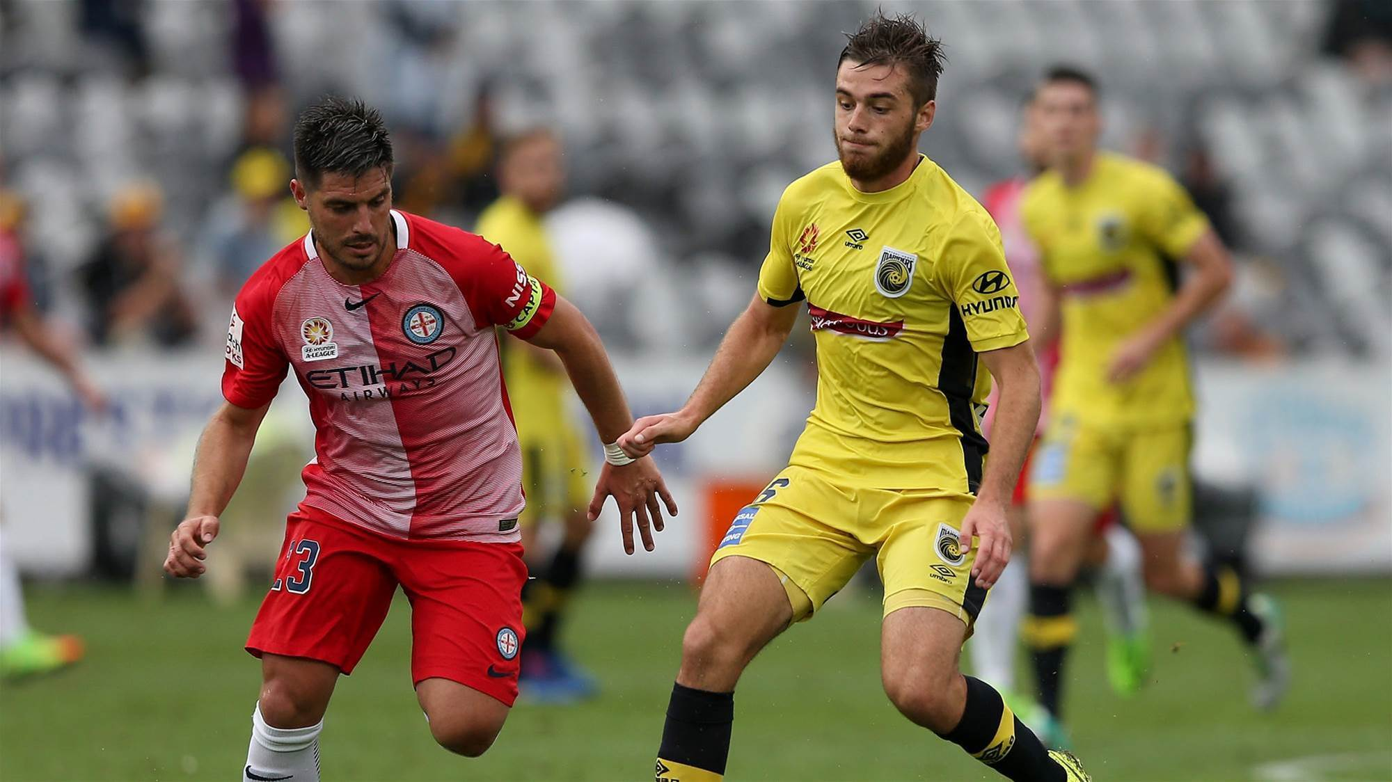 City defeat Mariners in friendly