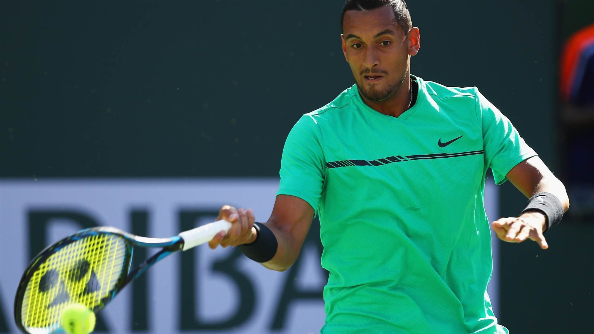 Kyrgios downs Djokovic, again
