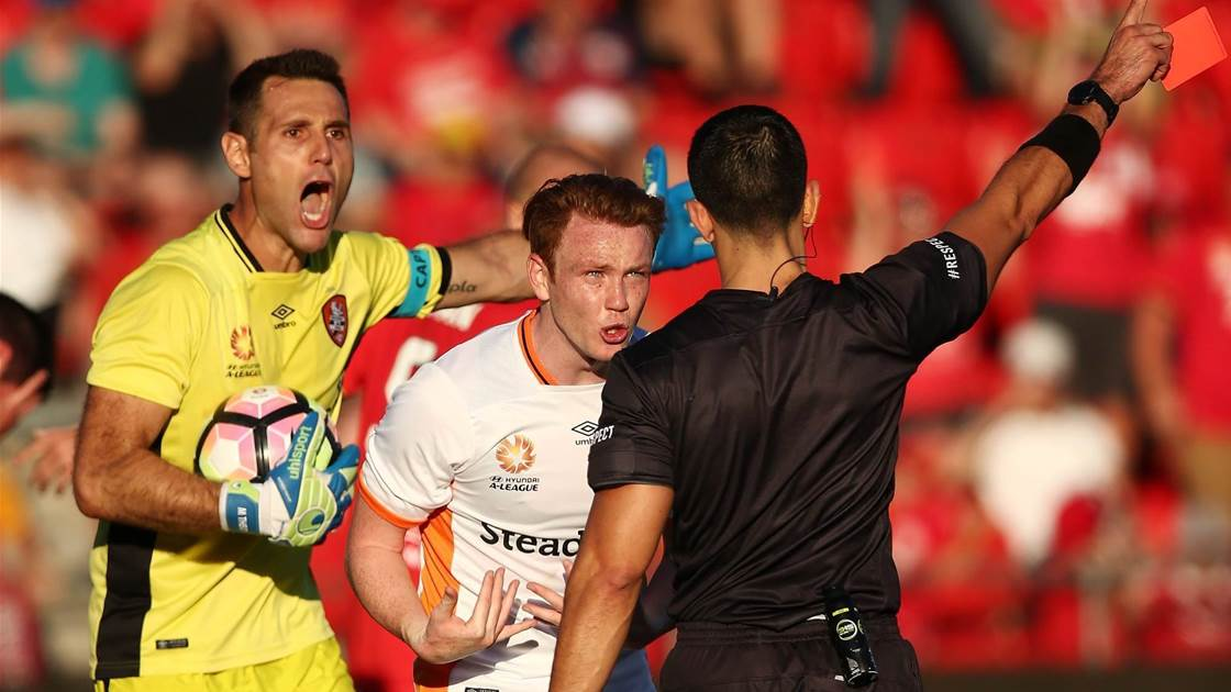 McGowan: Theo deserved red card