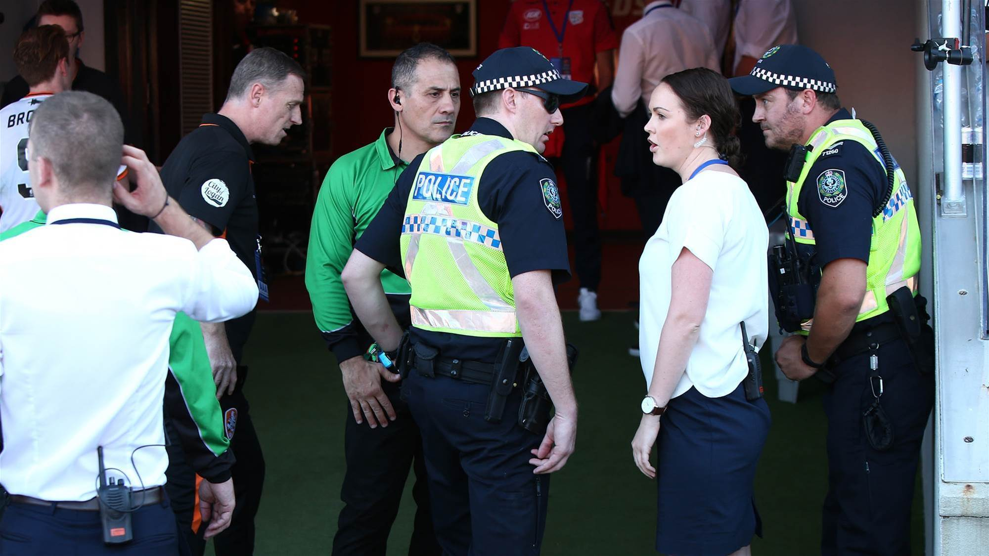 A-League coaches clash in tunnel post-match