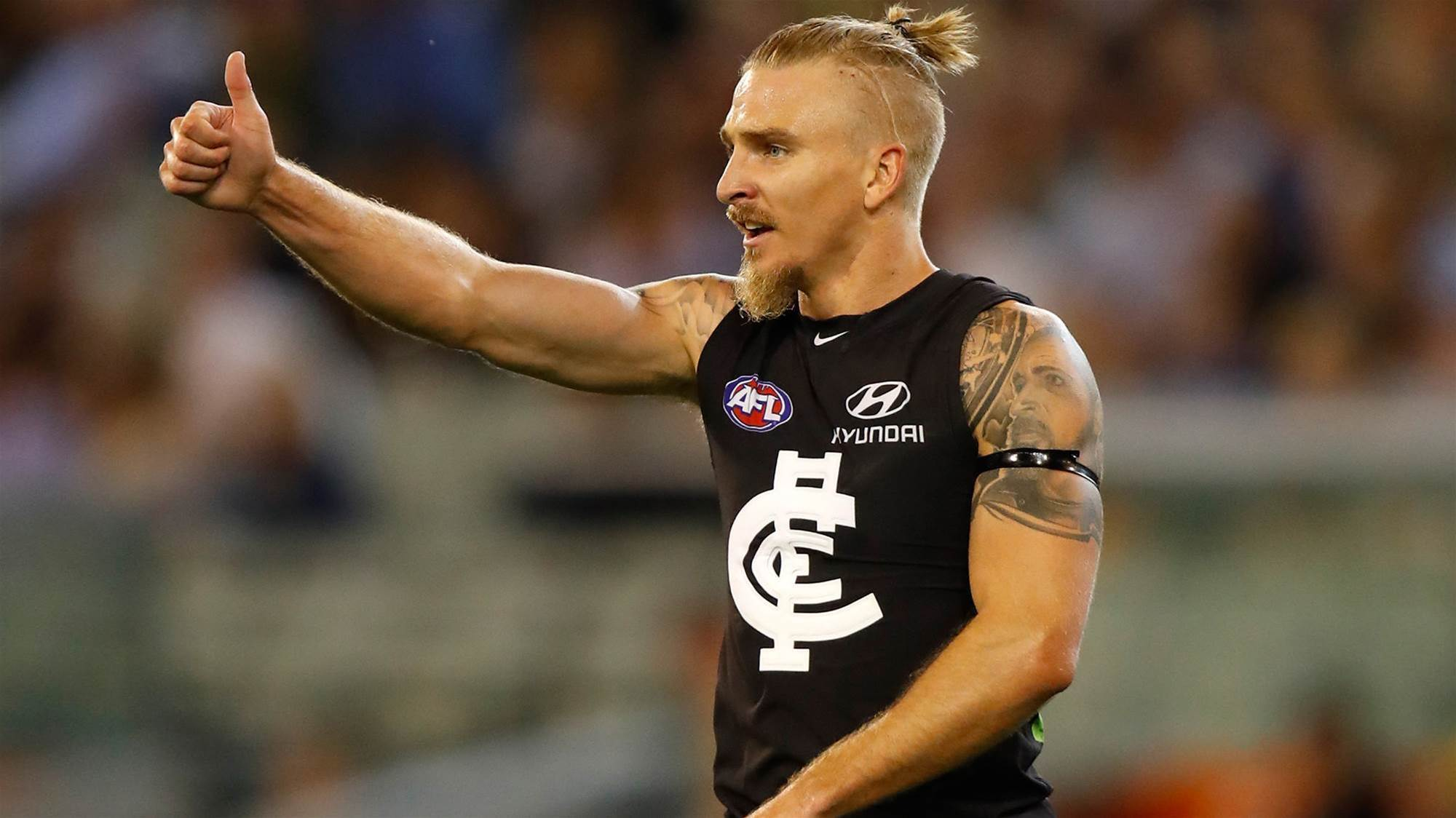 Carlton's Armfield hangs up the boots