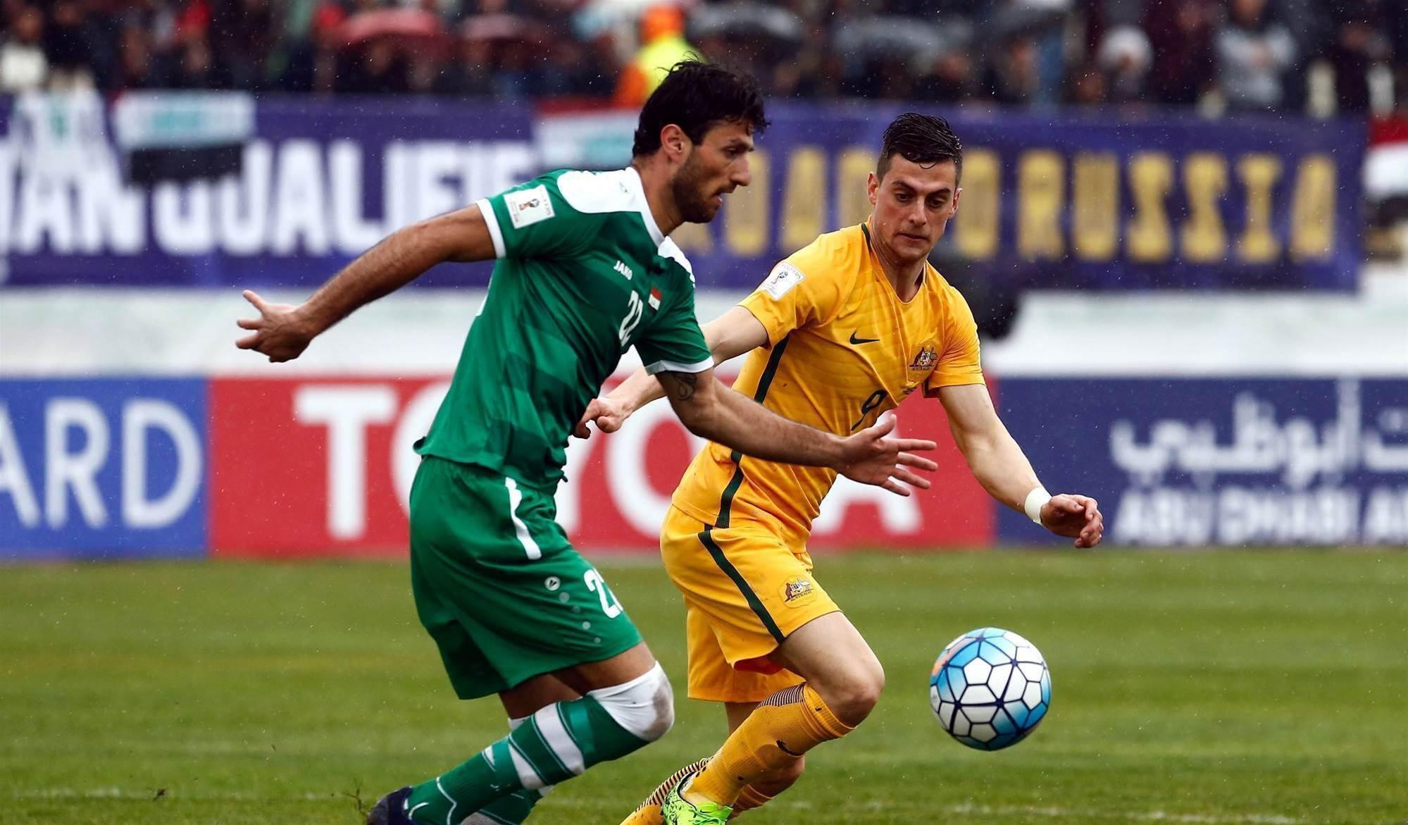 Limp Socceroos stumble to draw