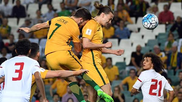 First goal, Socceroos win, home crowd...'Perfect!'