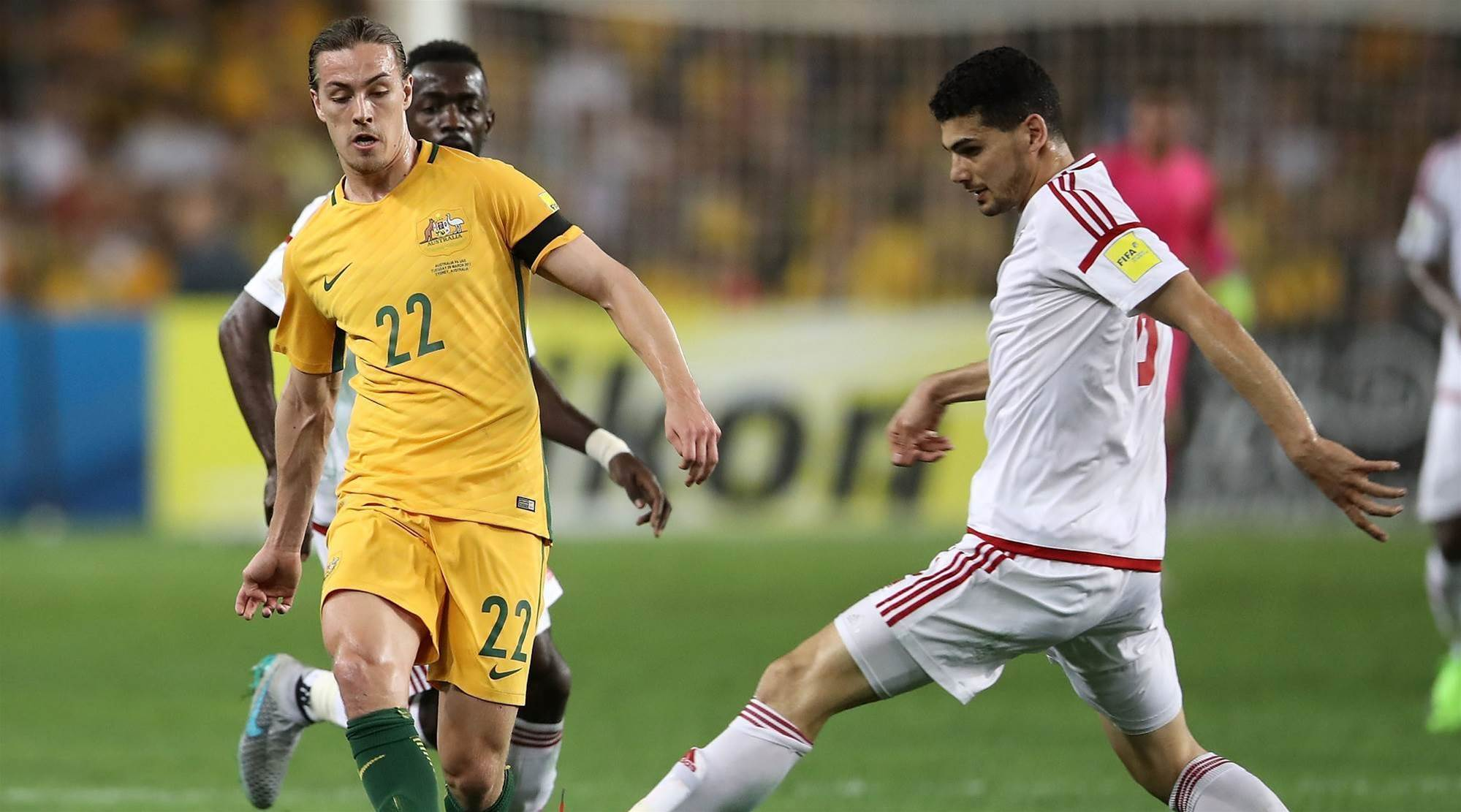 Is Irvine the long-term replacement for Jedinak?