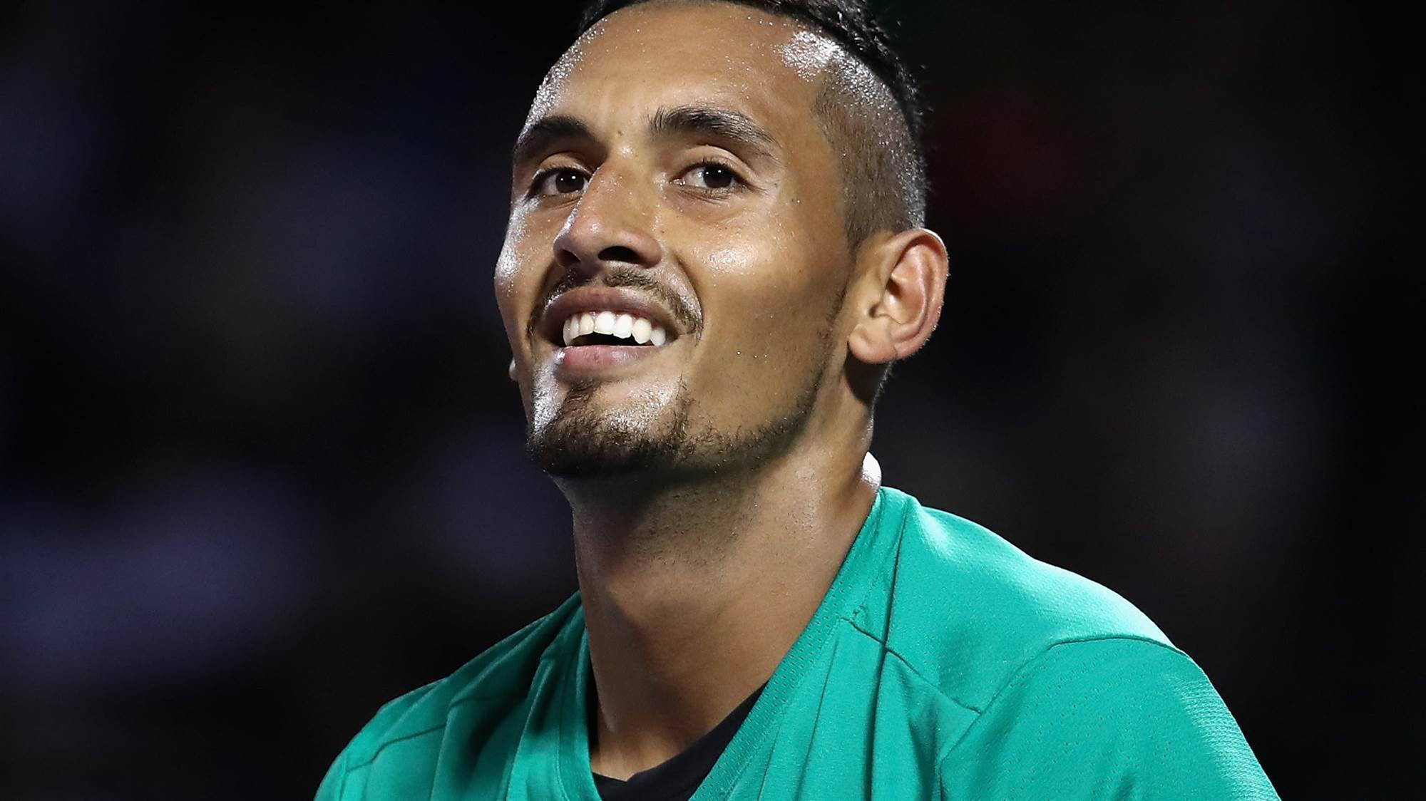 Kyrgios to face Federer