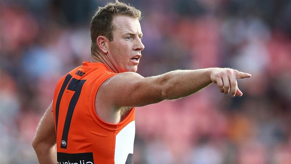 Steve Johnson calls time on AFL career