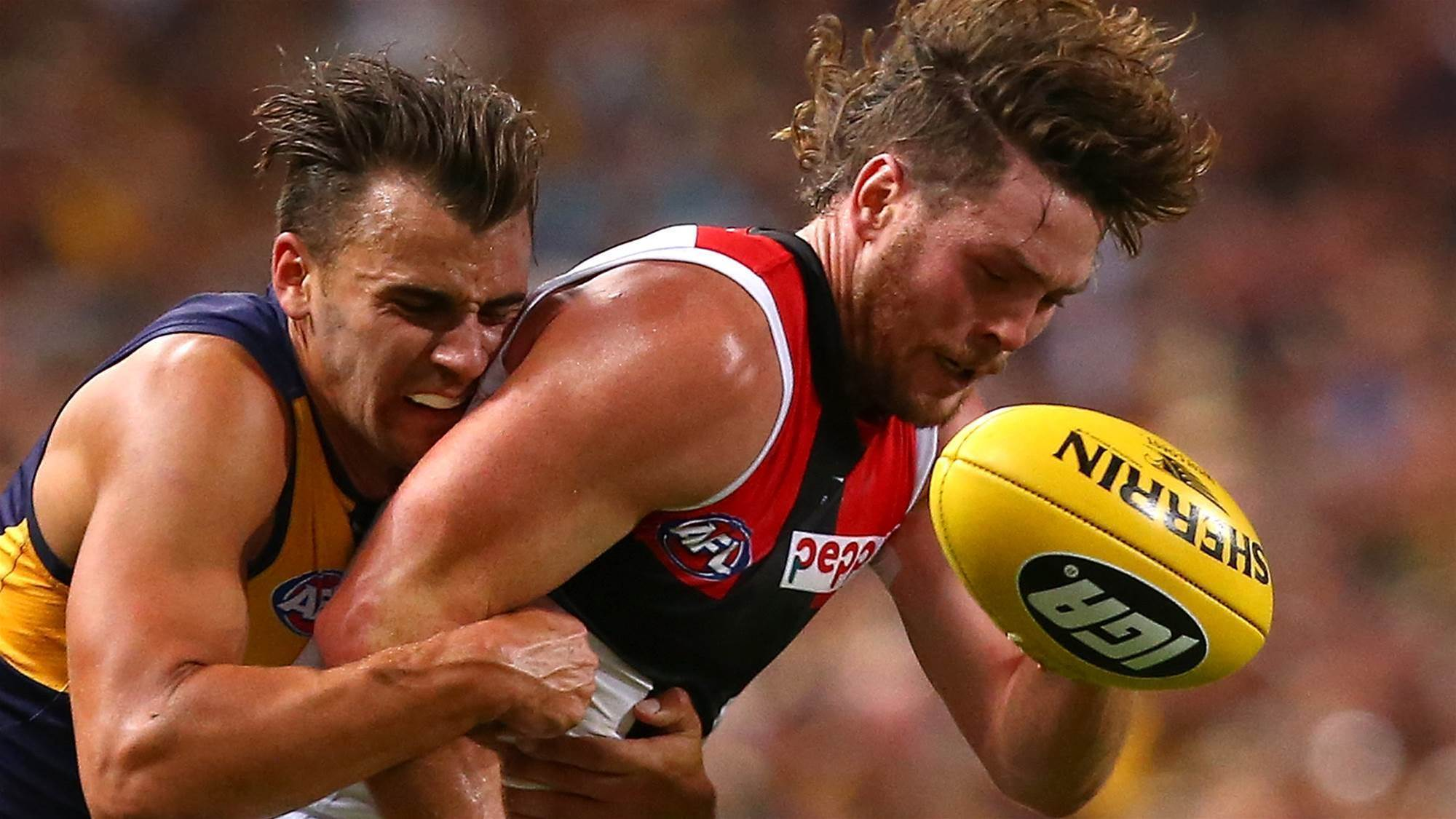 Saints gun out with punctured lung