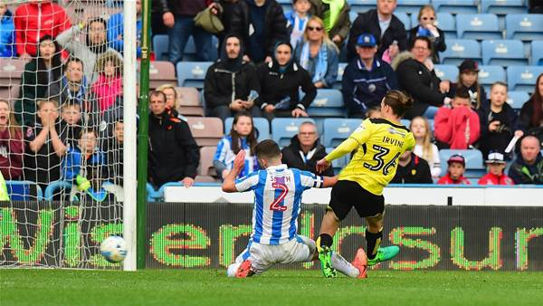 Irvine buries Mooy's Huddersfield