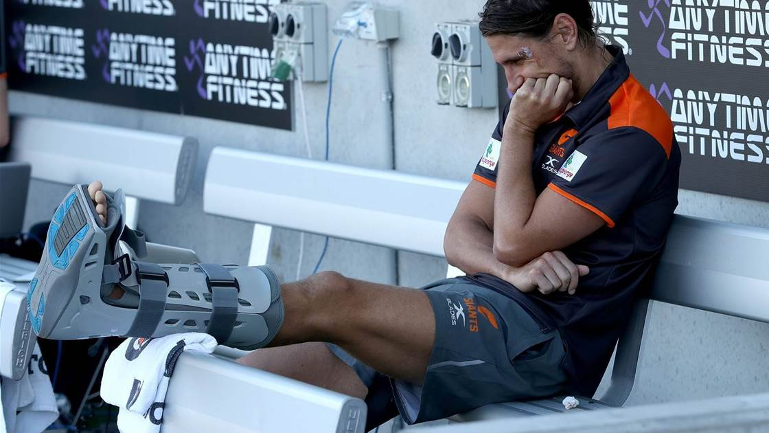More injury woe for GWS midfielder Ryan Griffen