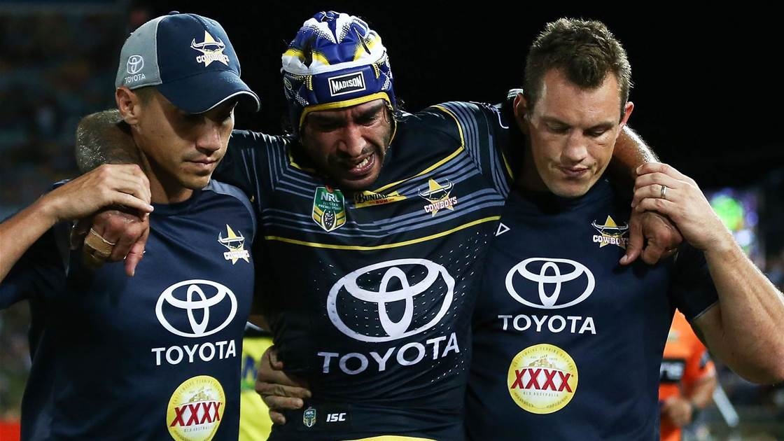 Thurston out - Maroons sweating