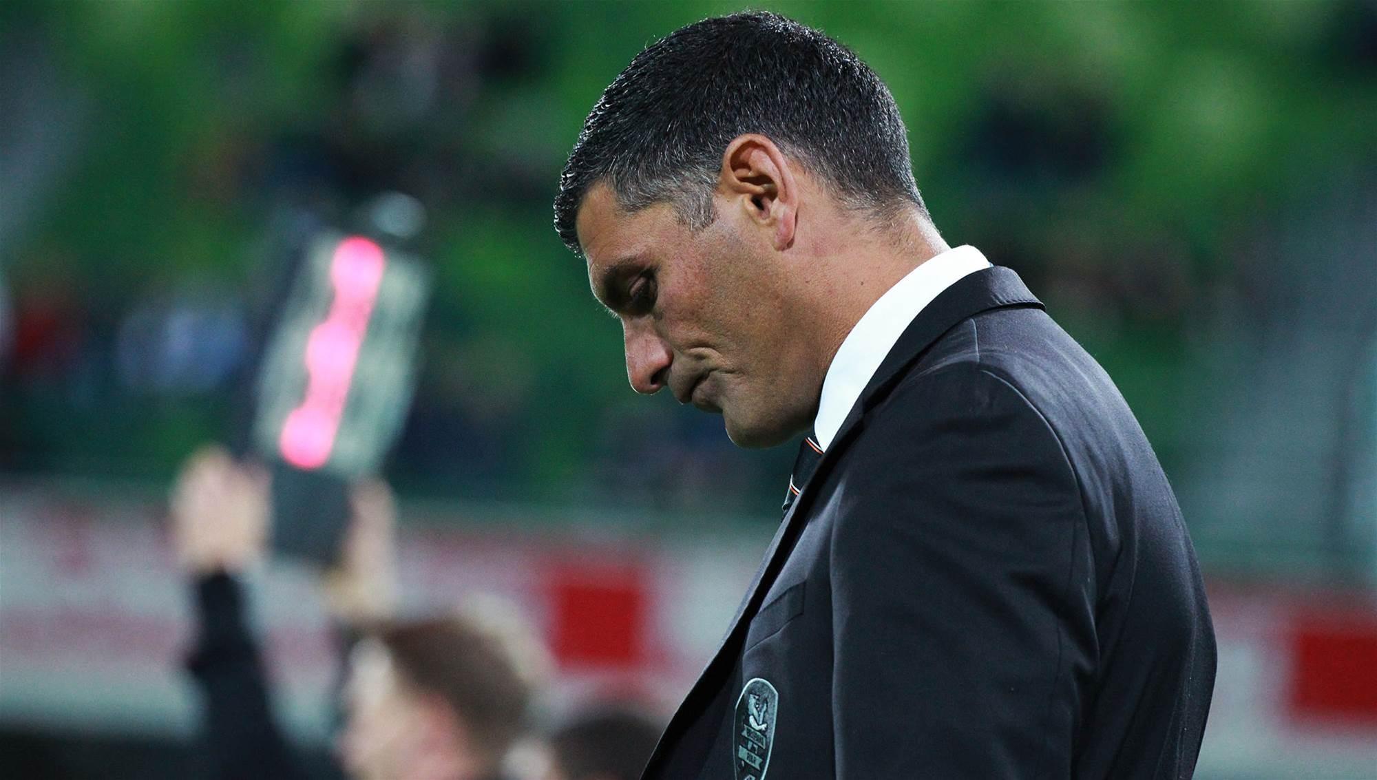 Aloisi defends decision to rest Roar four