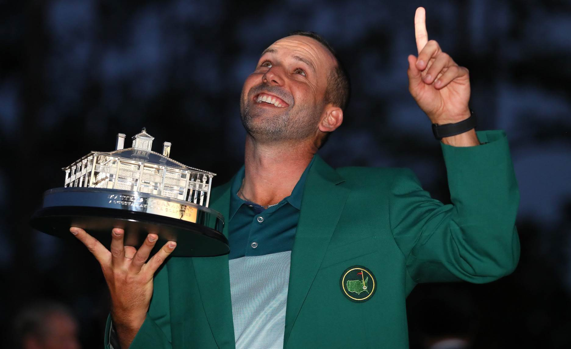 MASTERS: Sergio finally does it!