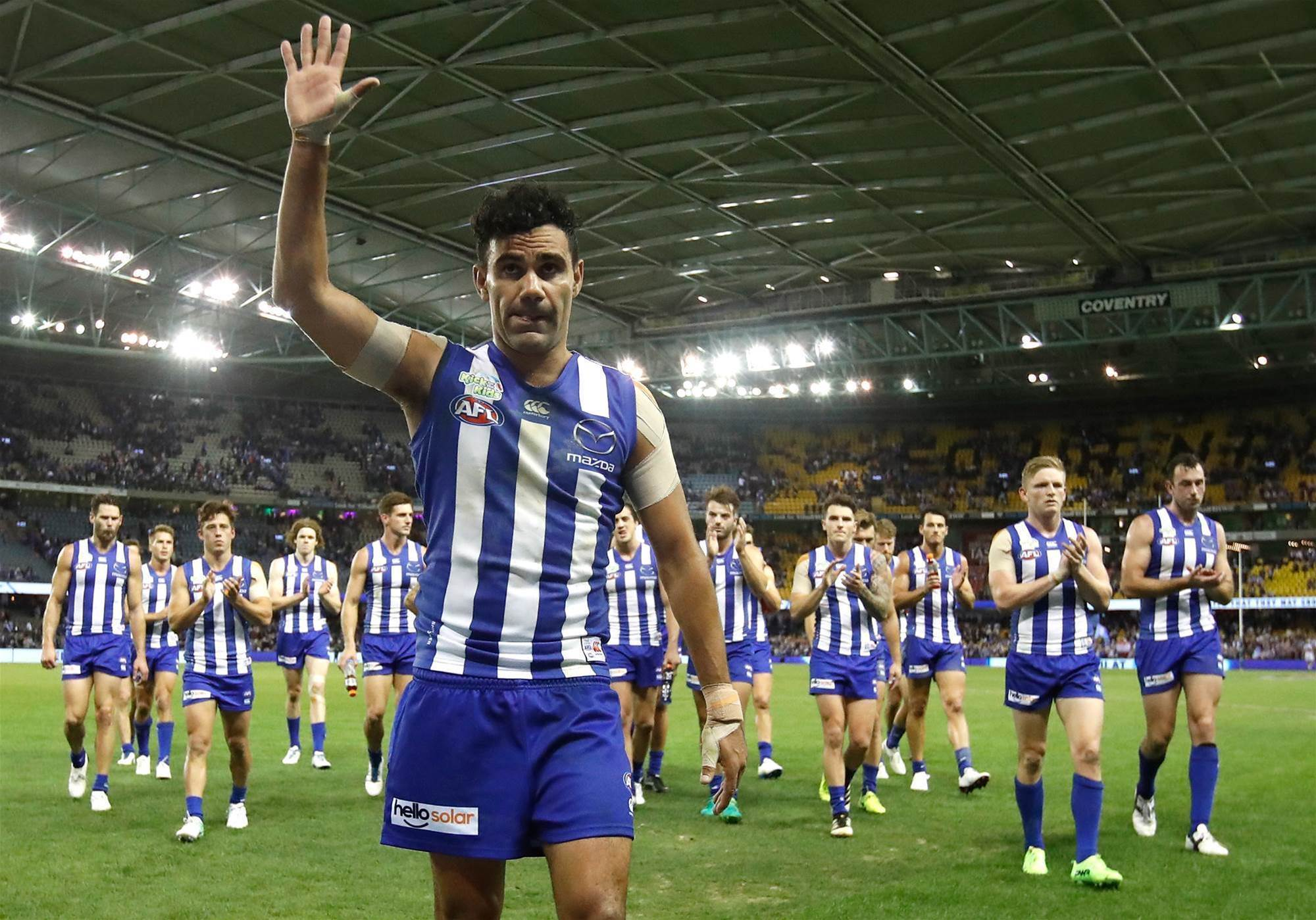 North Melbourne delist Lindsay Thomas