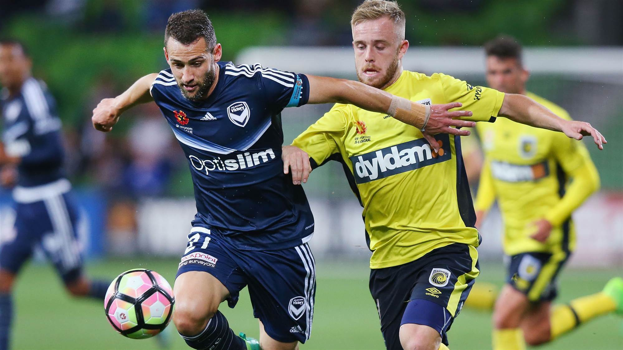 Mariners defeat Victory at AAMI Park