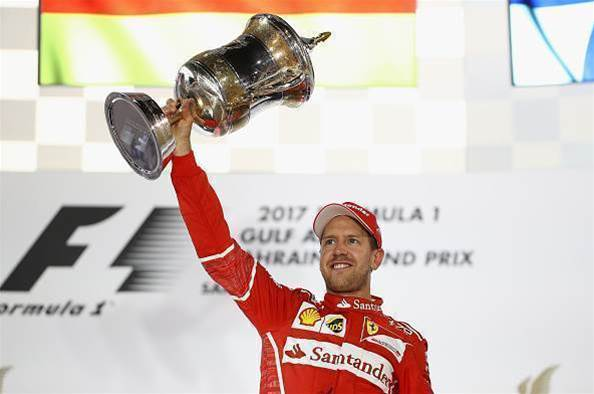 Vettel back on top in Bahrain