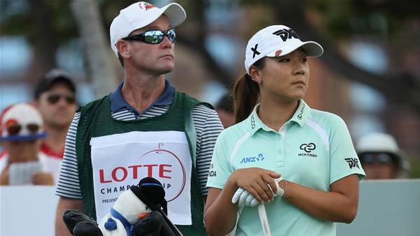Ko in search of a new caddie – again