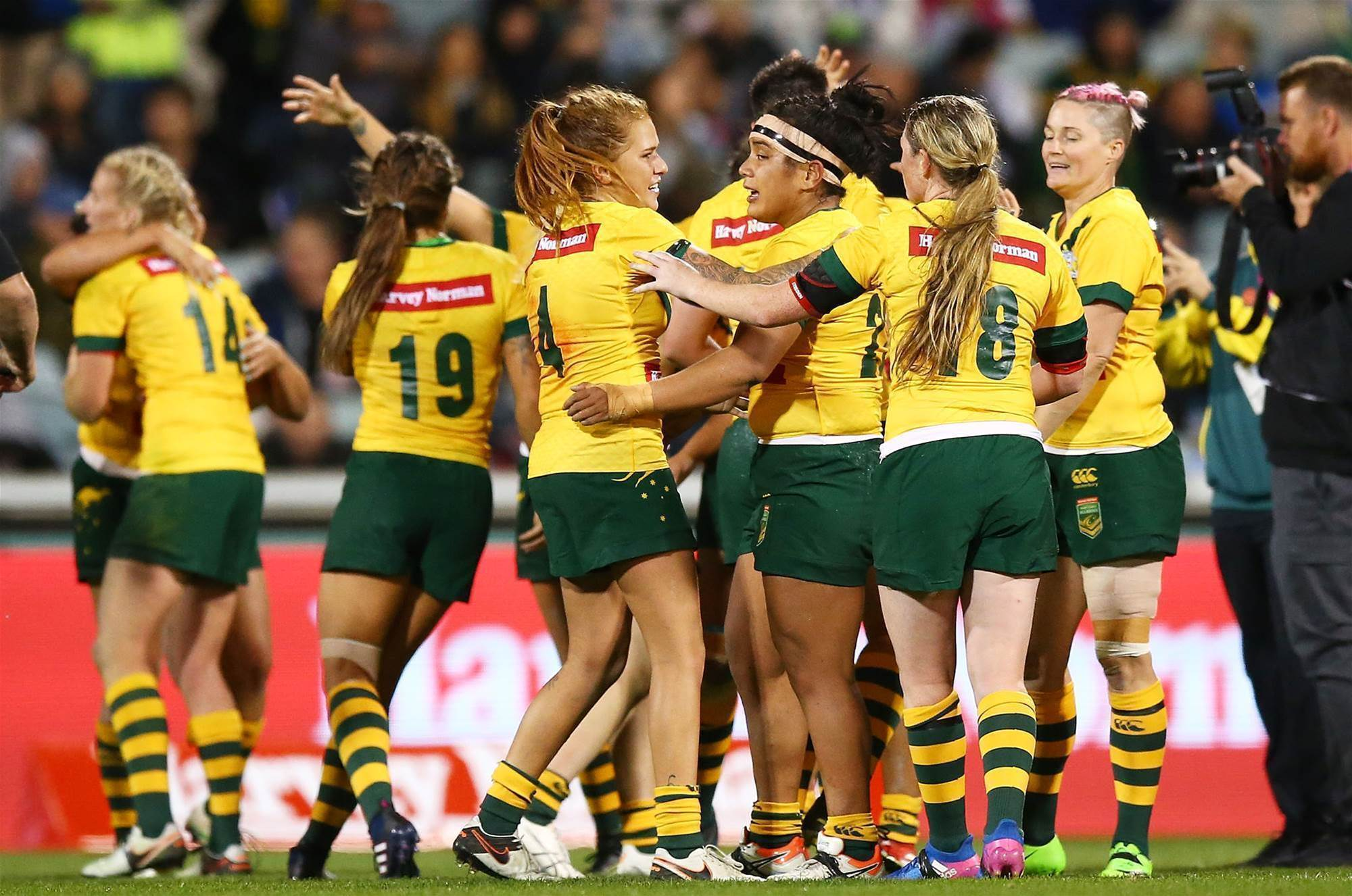 Getting to know the Jillaroos