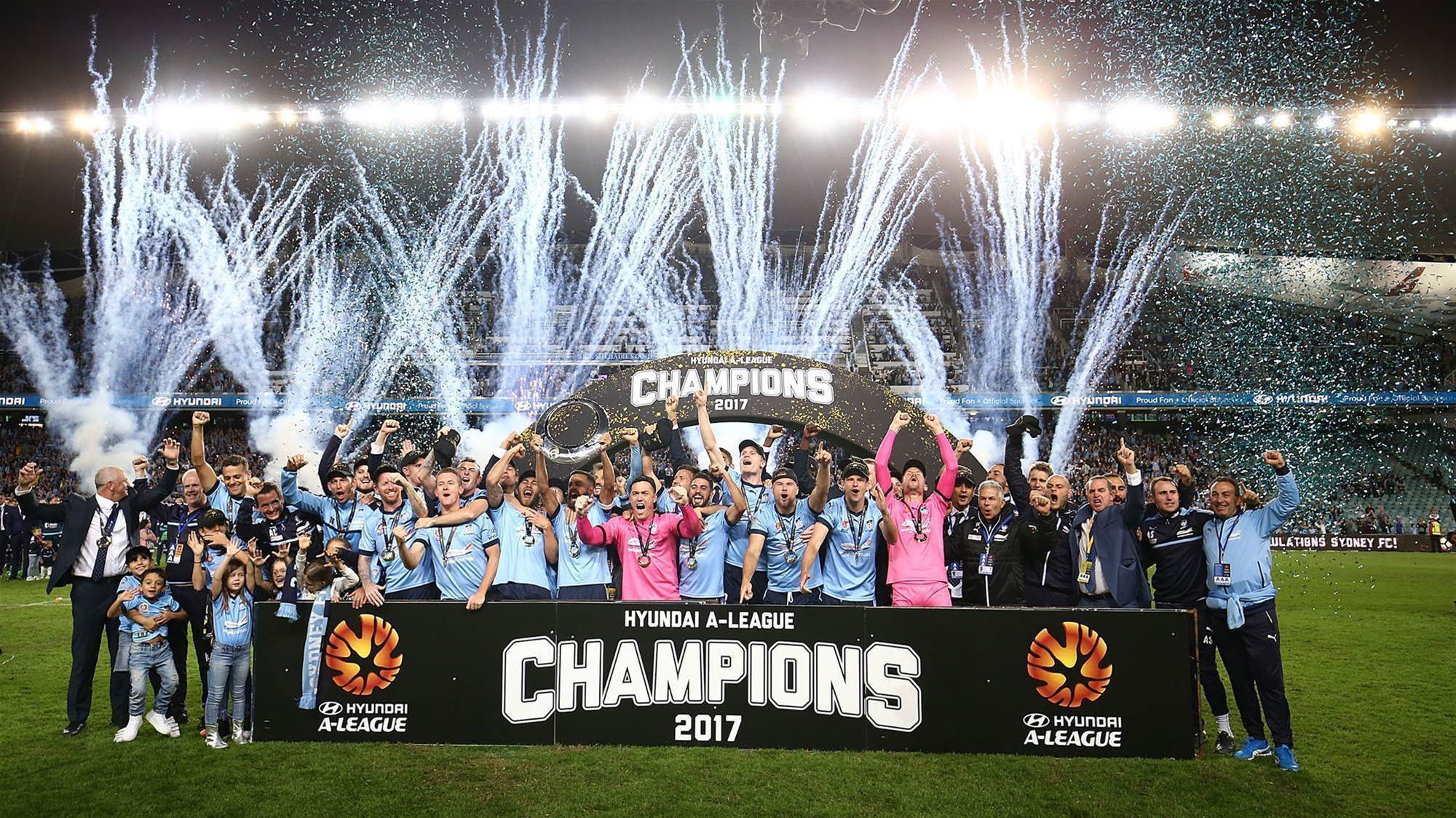 Sydney FC 'Record Breakers' premiere