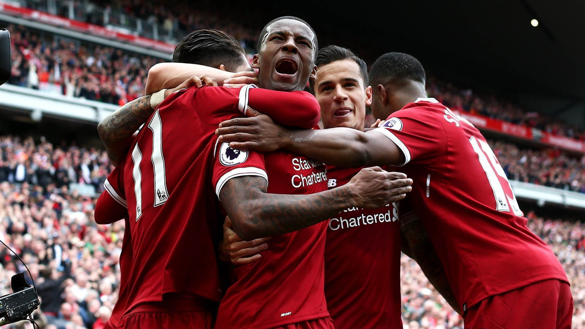 Liverpool name strong squad for Sydney clash
