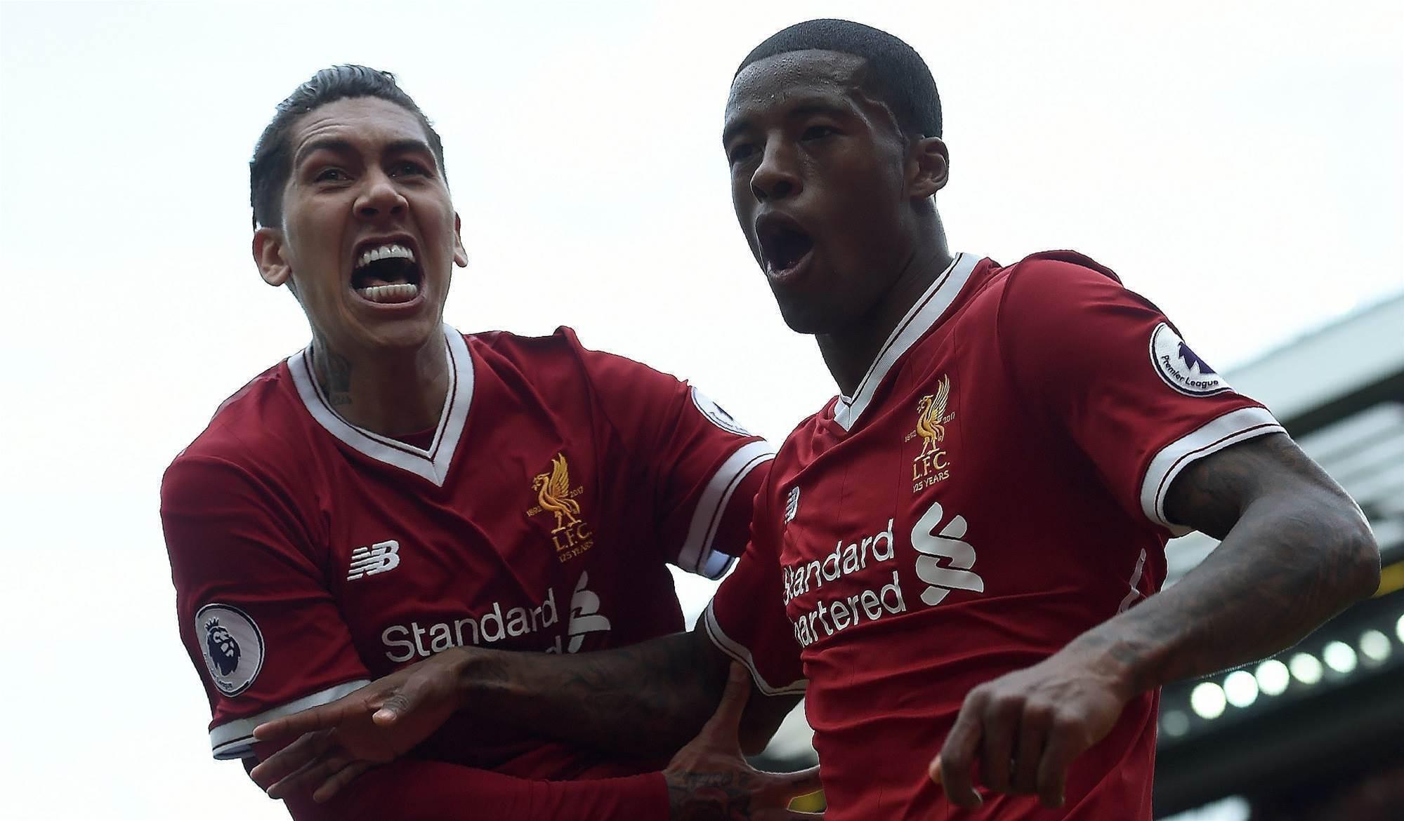 Liverpool confirms starting XI