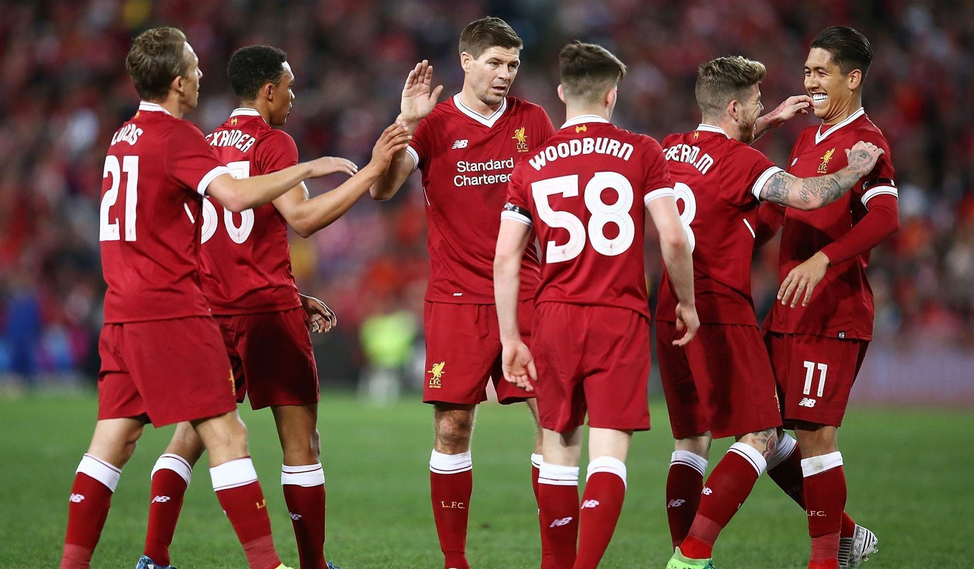 Gerrard inspires Liverpool win over Sydney