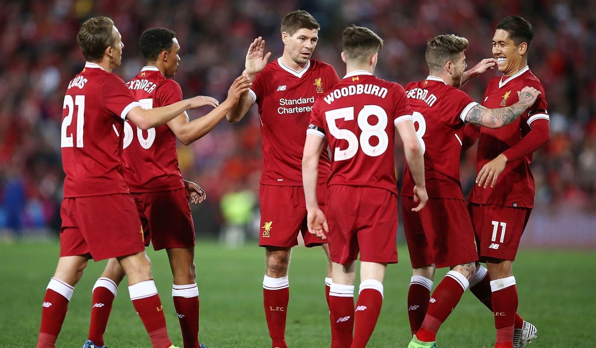 Gerrard inspires Liverpool win over Sydney