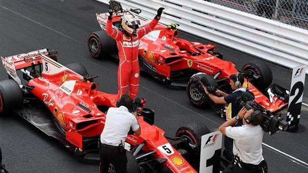 Vettel wins Monaco Grand prix