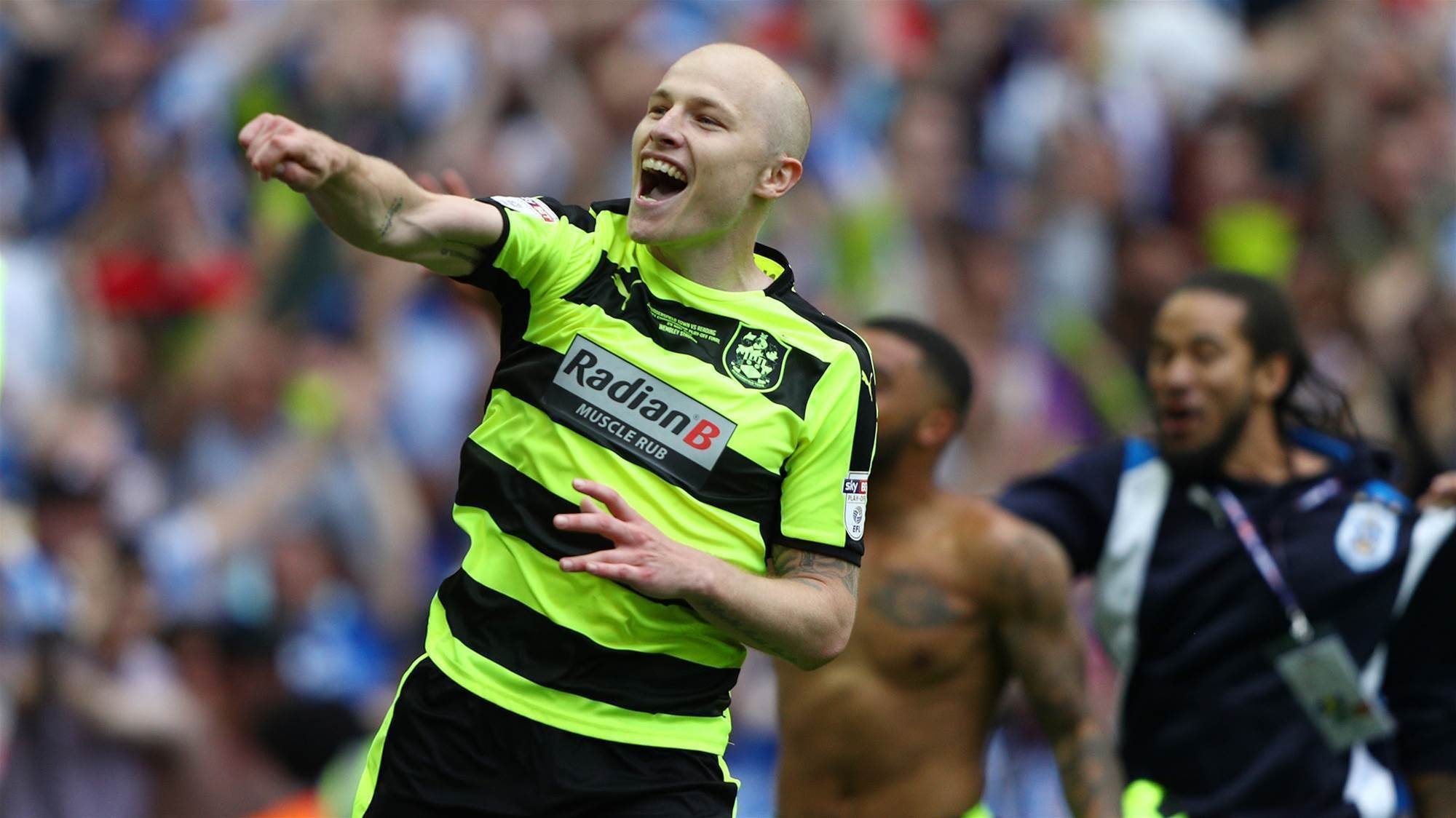Mooy's Huddersfield heroes headed for the EPL