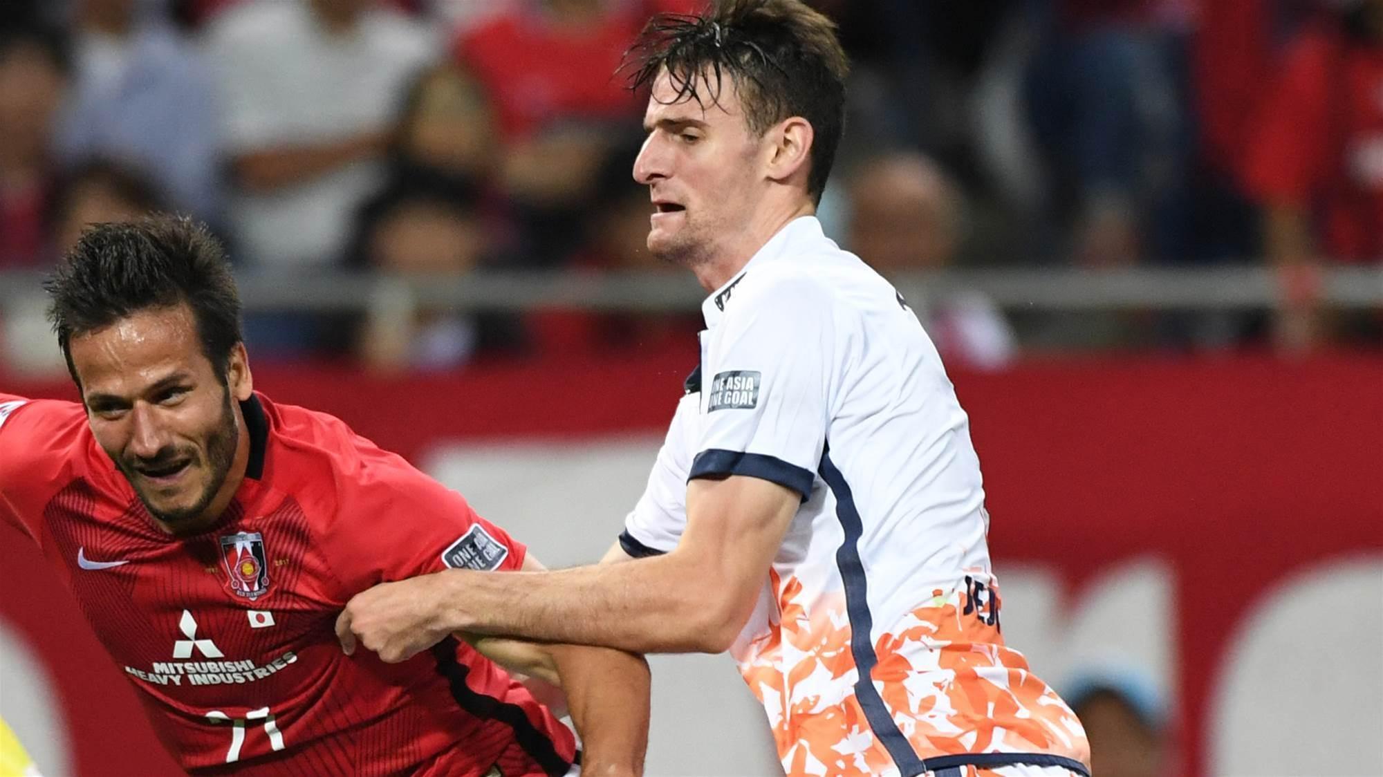 WATCH: Aussie defender scores from inside his own half