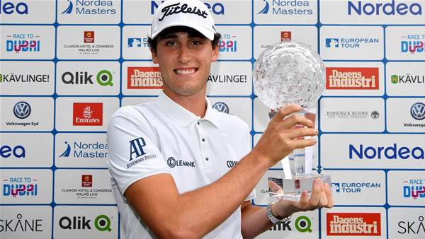 EURO TOUR: Italian young gun wins maiden title