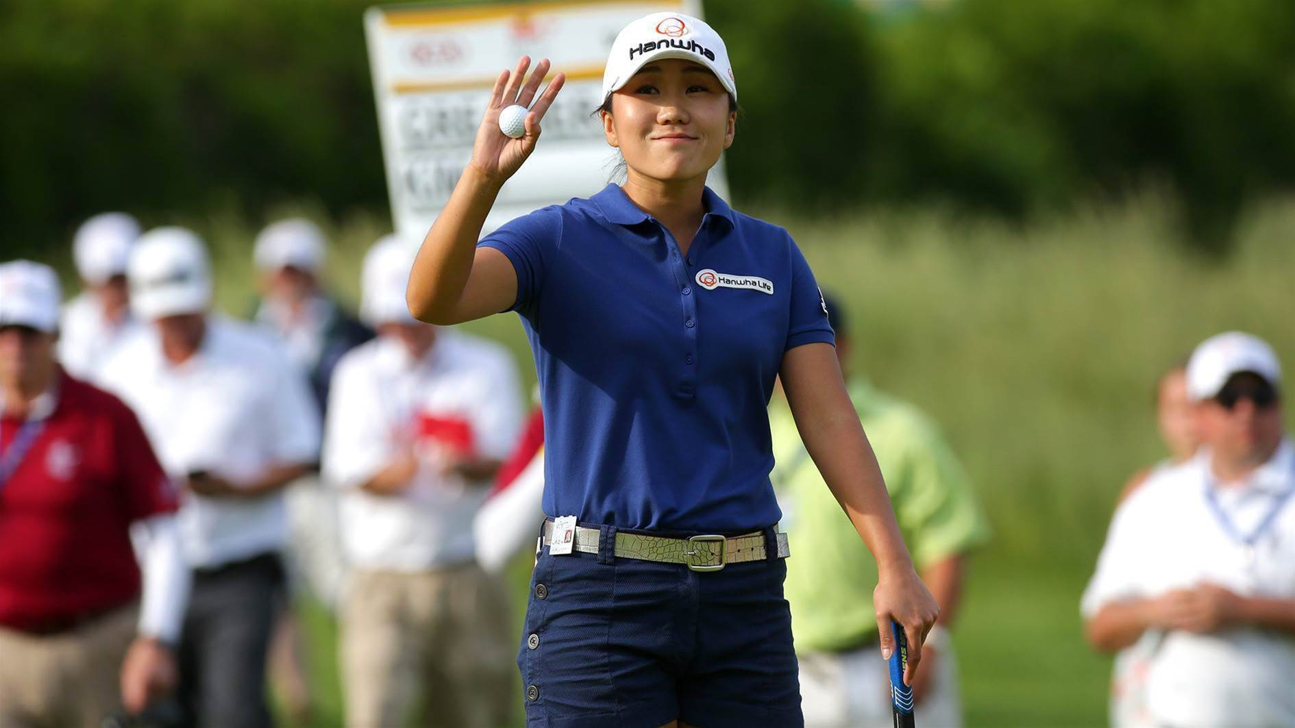 LPGA: Kim denies Nordqvist historic three-peat