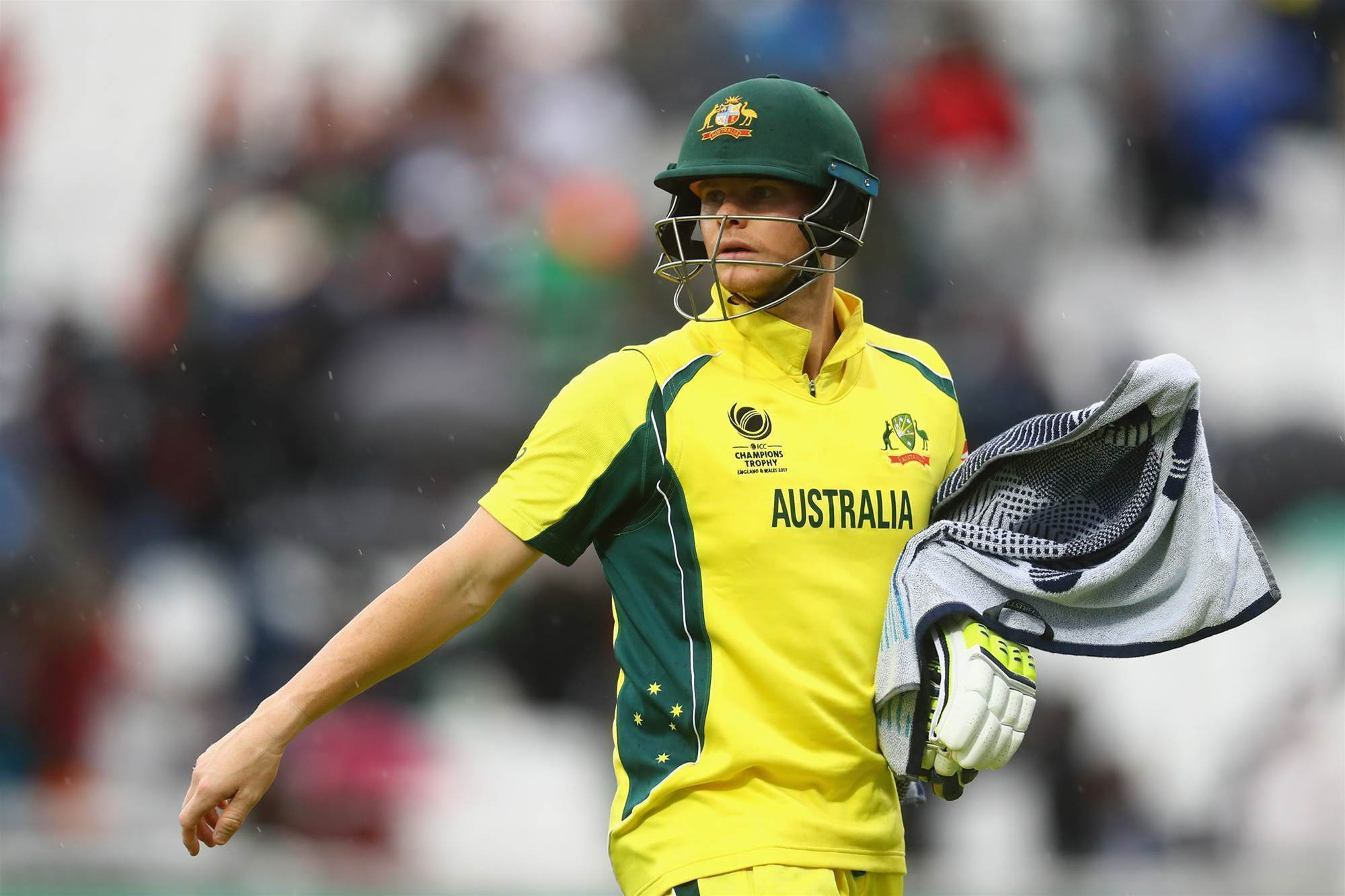 Smith frustrated by yet another Champions Trophy washout
