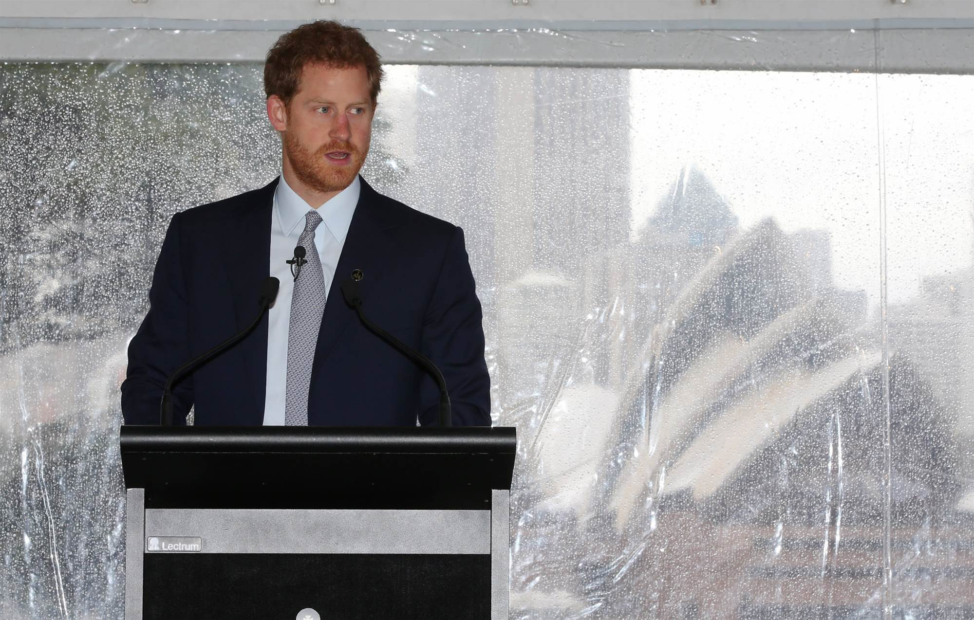 "Prince Harry launches ""life-changing"" Sydney Invictus Games"