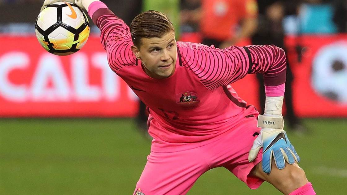 Langerak replaced by Federici