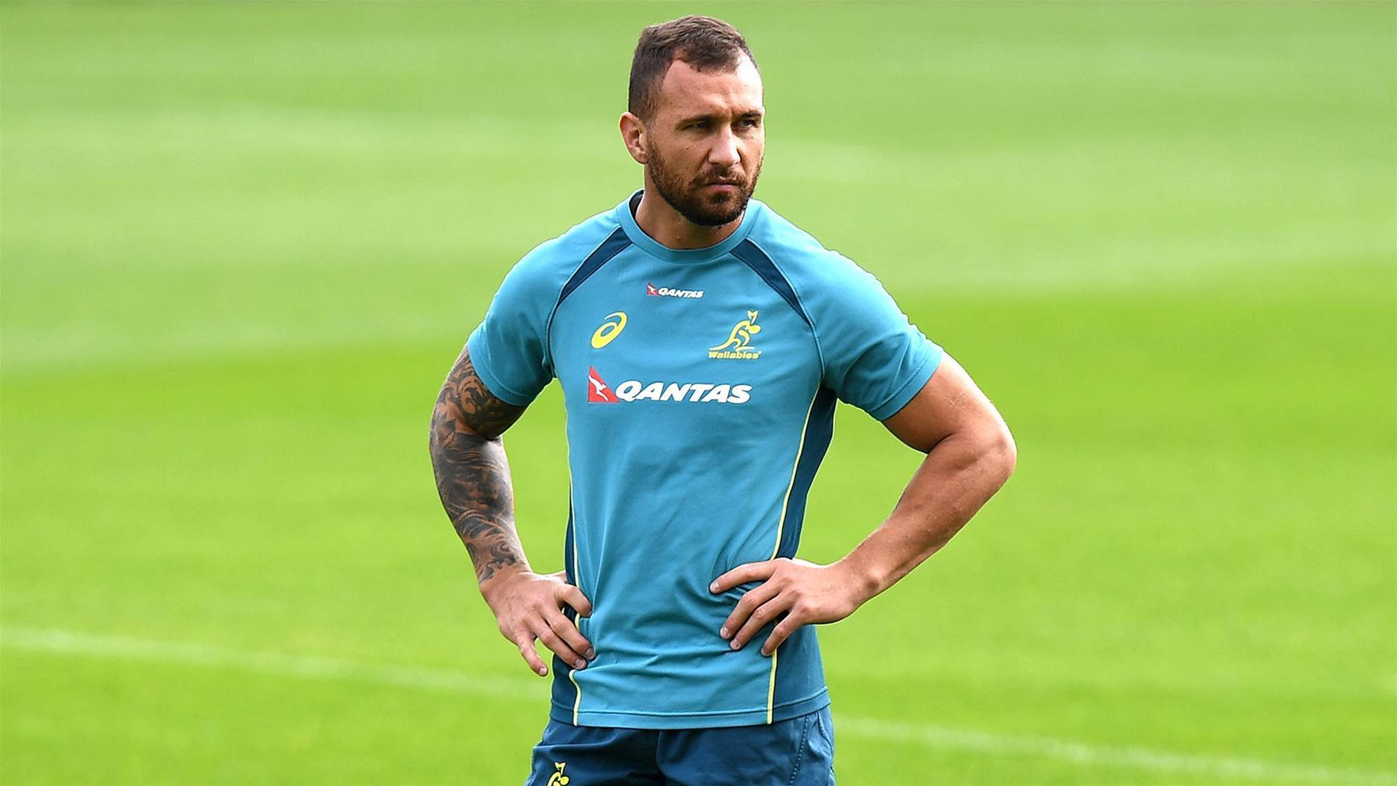 Cooper dropped as Cheika names Wallabies squad