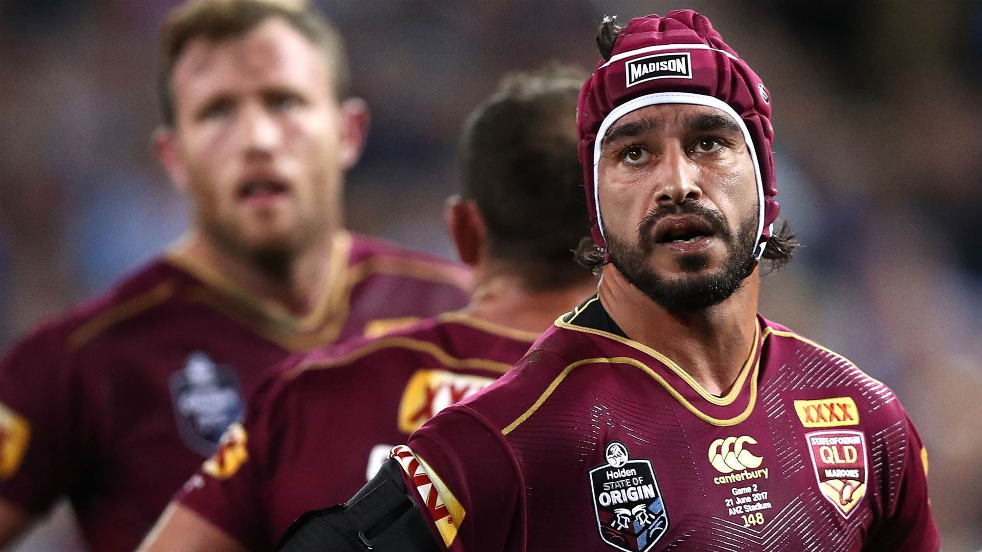 Thurston injury blow: He went above and beyond, says Maroons boss