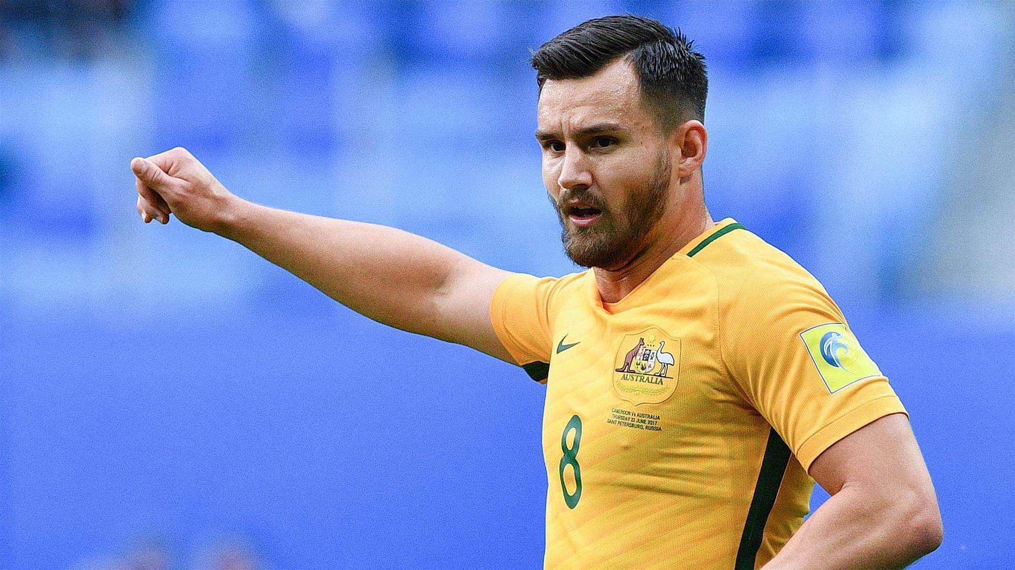 Confident Socceroos Wright behind Ange