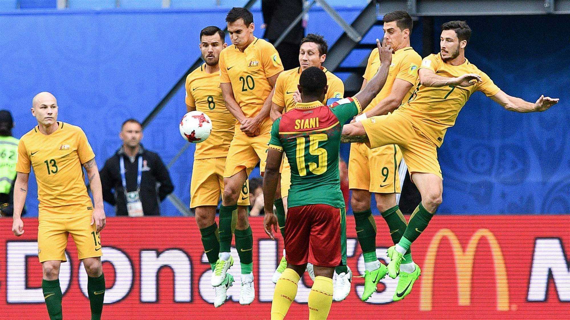 Five things we learned: Australia v Cameroon