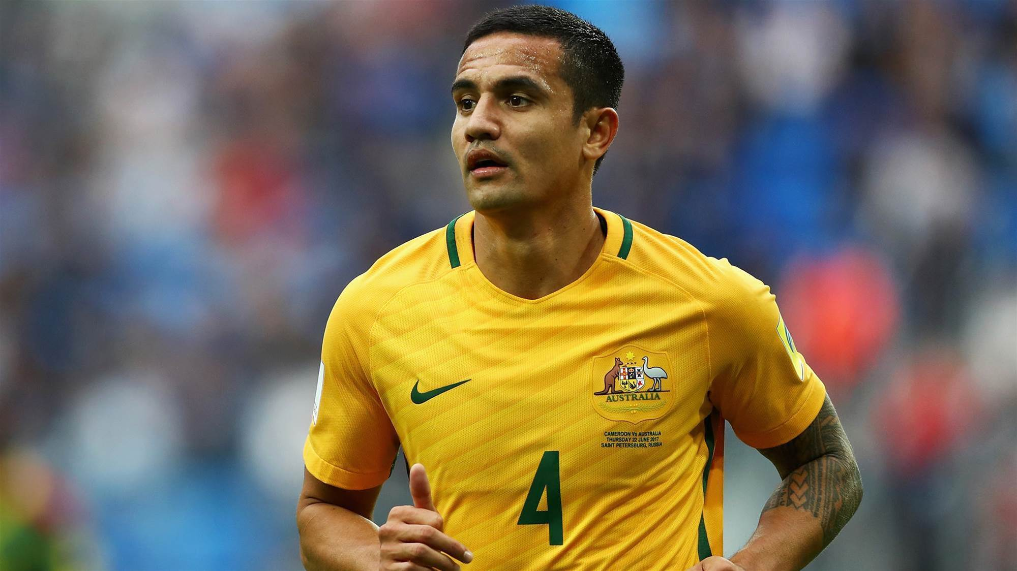 Cahill 'not emotional' on the brink of century milestone