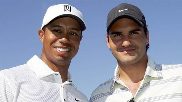 Woods channels Federer