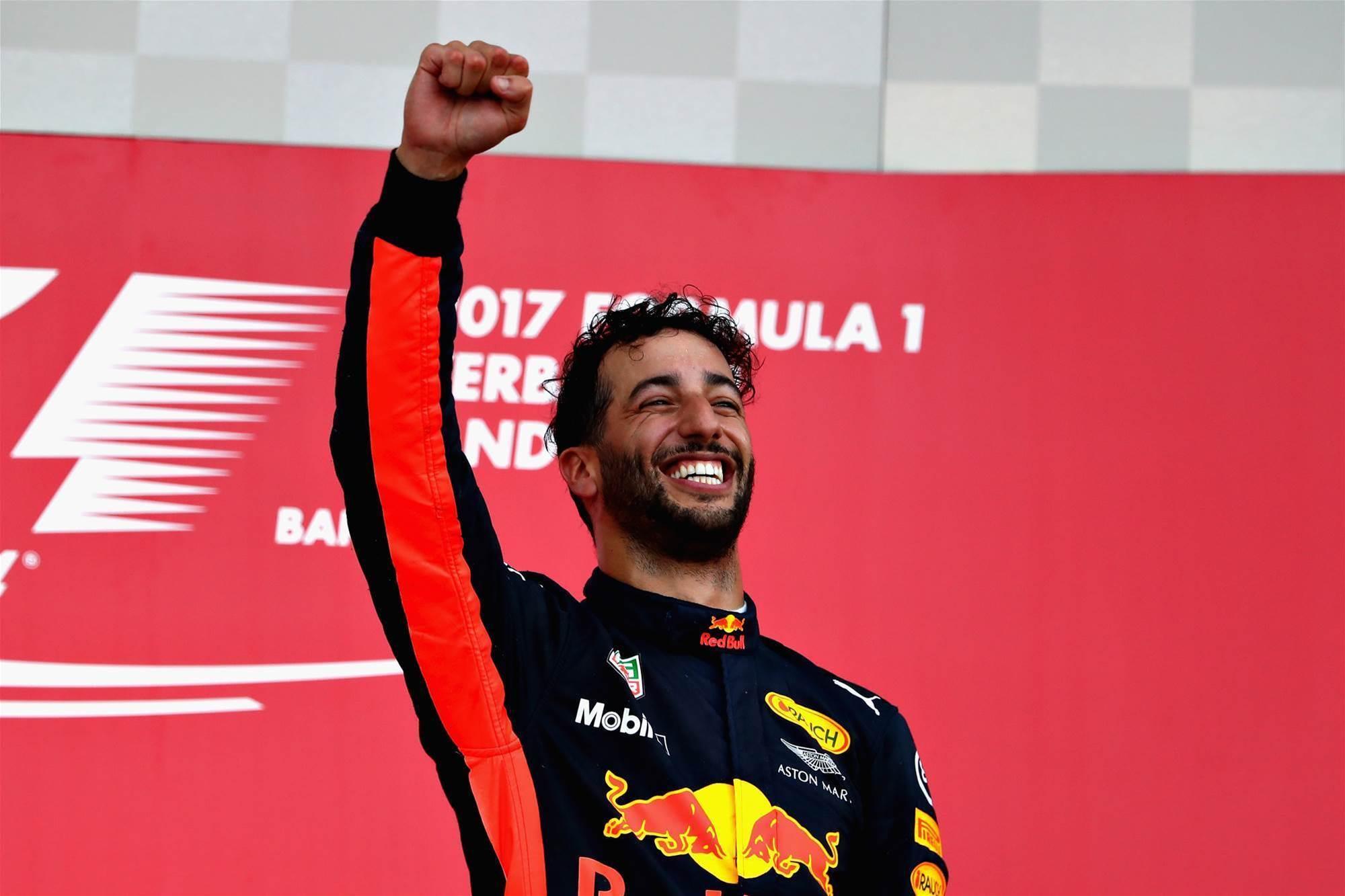 Ricciardo takes shock win in Baku