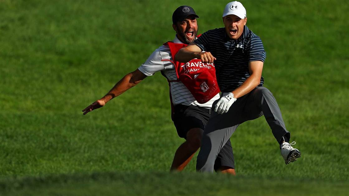 PGA TOUR: Brilliant Spieth rides his luck to extra time win