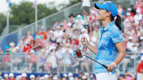 LPGA: Kang birdies final hole for dramatic first major win